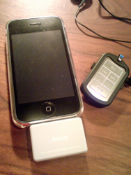 iPhone 3G + Jabra A125s + Jabra BT3030