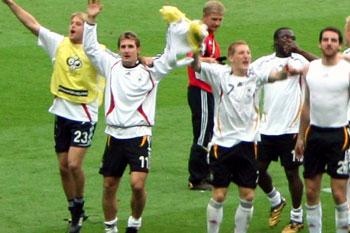 ドイツ勝利